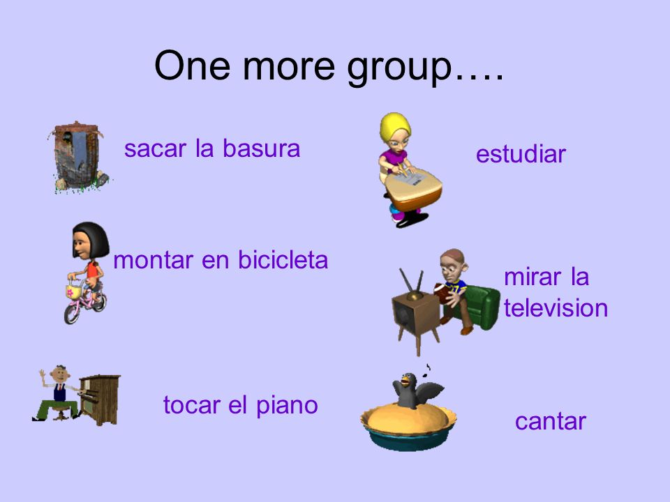 One more group….