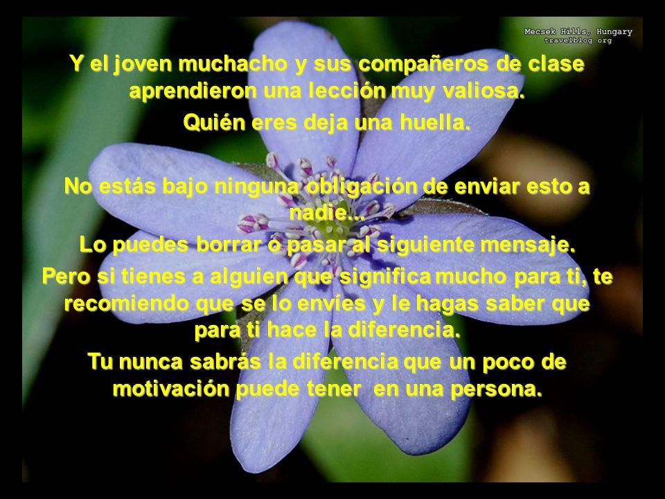 www.vitanoblepowerpoints.net Derechos reservados para el autor Que tengas un día maravilloso, y sepas que alguien hoy pensó en ti!