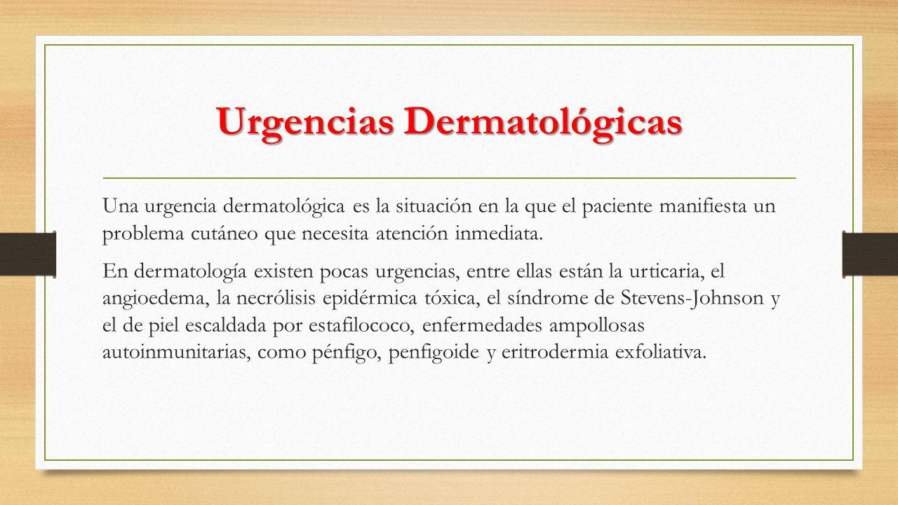 URTICARIA La urticaria es un síndrome reaccional de la piel y las mucosas ante diferentes estímulos etiológicos, que se distingue por pápulas edematosas dérmicas llamadas ronchas o habones que se manifiestan por placas eritematosas, edematosas, transitorias, de diferente tamaño, asociadas con prurito.