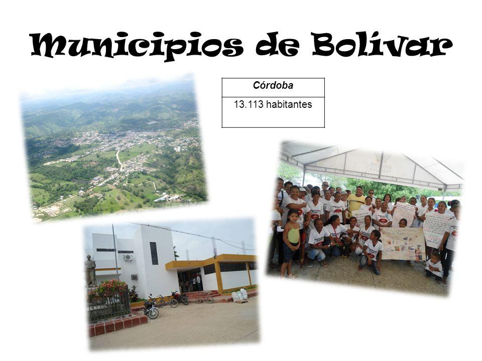 Municipios de Córdoba MonteríaCiénaga de OroSan Andrés de Sotavento 428.602 habitantes53.145 habitantes63.147 habitantes