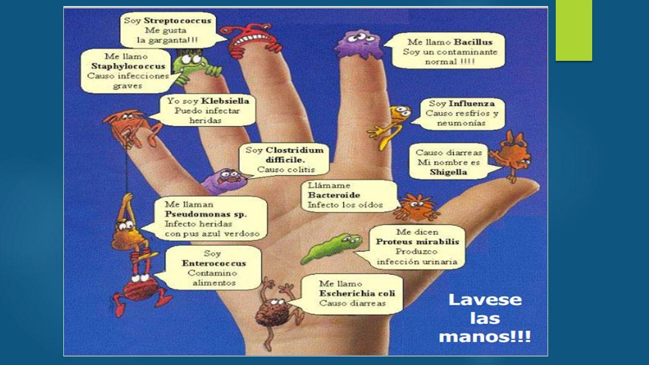 INMUNOCOMPROMETIDOS  Lo más importante en el manejo de estos pacientes es el lavado de manos !!!!