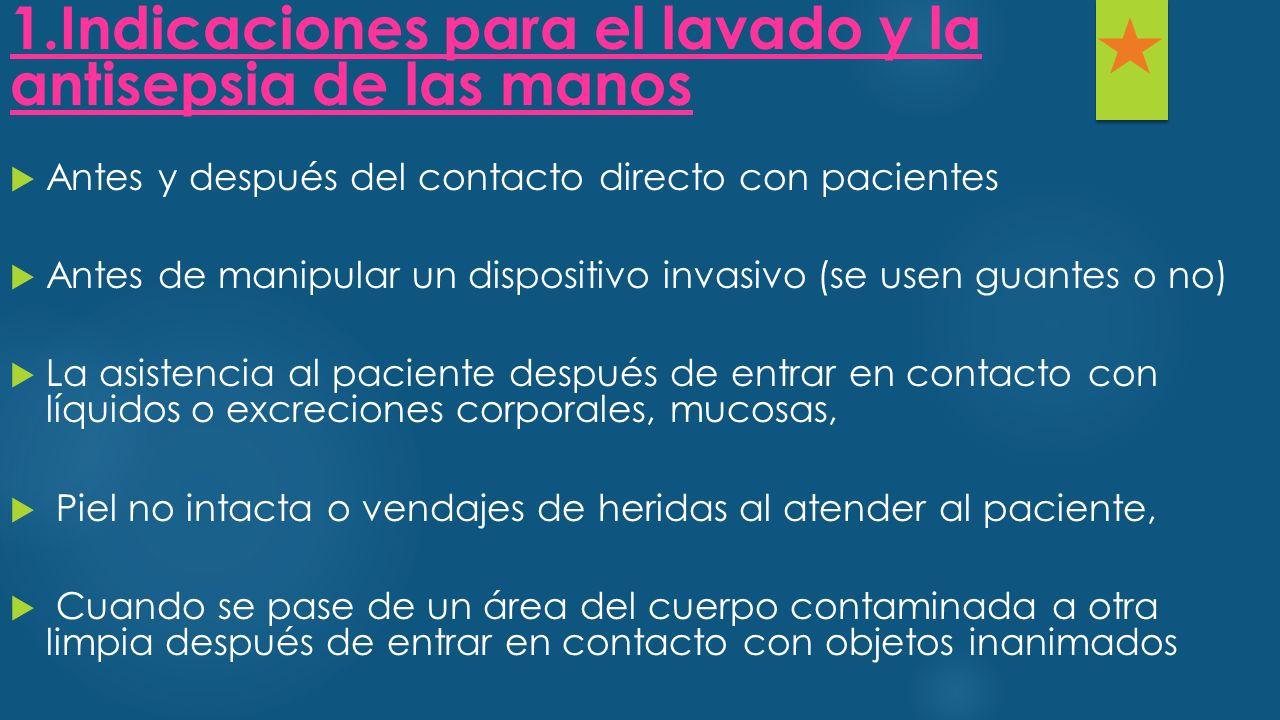  Diarrea por Clostridium difficile, Enterovirus, Rotavirus  Infecciones de piel y partes blandas con secreciones no contenidas  Escabiosis.