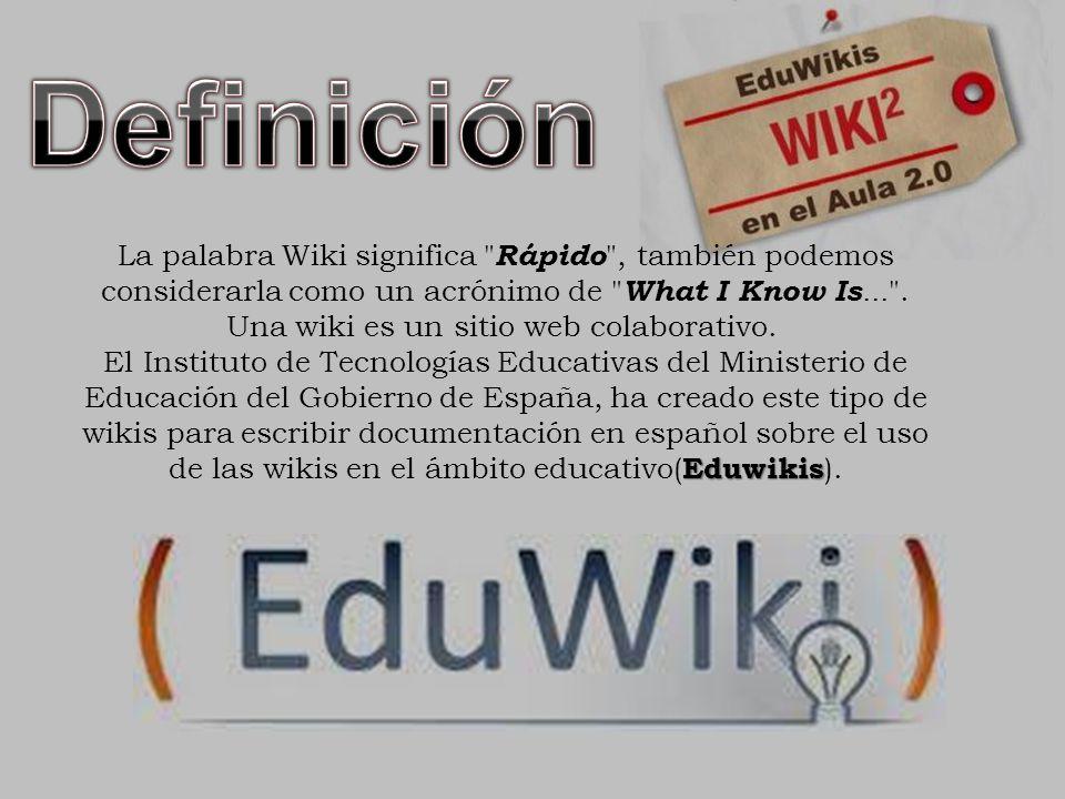 Resultado de imagen para EDUWIKIS