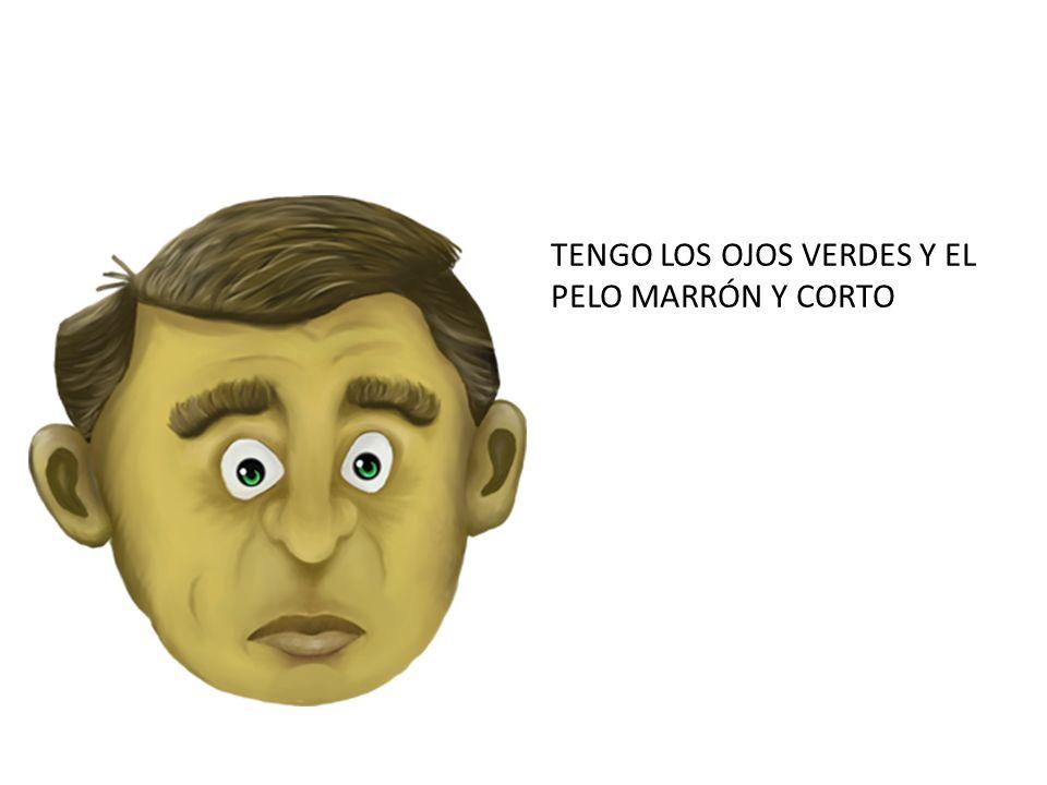 TENGO LOS OJOS VERDES Y EL PELO MARRÓN Y CORTO