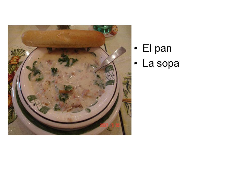El pan La sopa