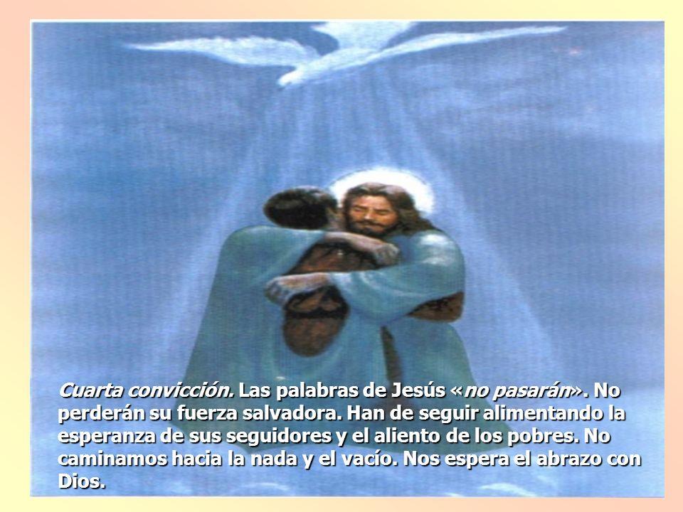 Jesús viene a «reunir a sus elegidos», los que esperan con fe su salvación.