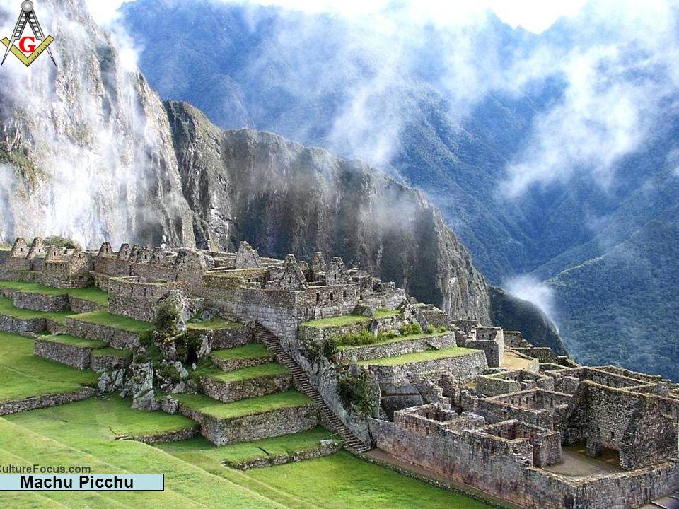Machu Picchu Es uno de los ejemplos más conocidos de la arquitectura inca