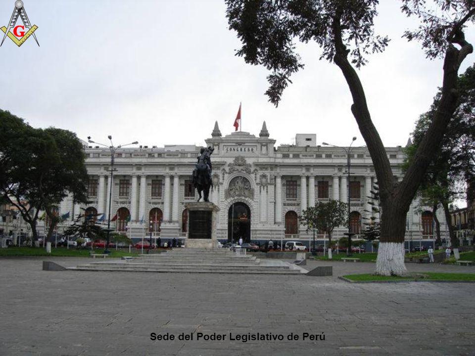 Casa de Pizarro, sede del Poder Ejecutivo del Perú