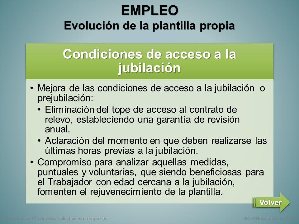 EmpleoEmpleo Una apuesta de futuro Directrices generales Evolución ...