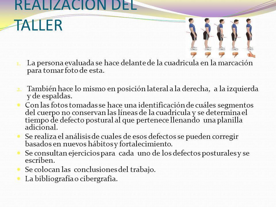 REALIZACIÓN DEL TALLER 1.