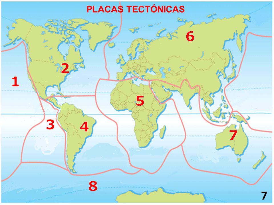 7 PLACAS TECTÓNICAS