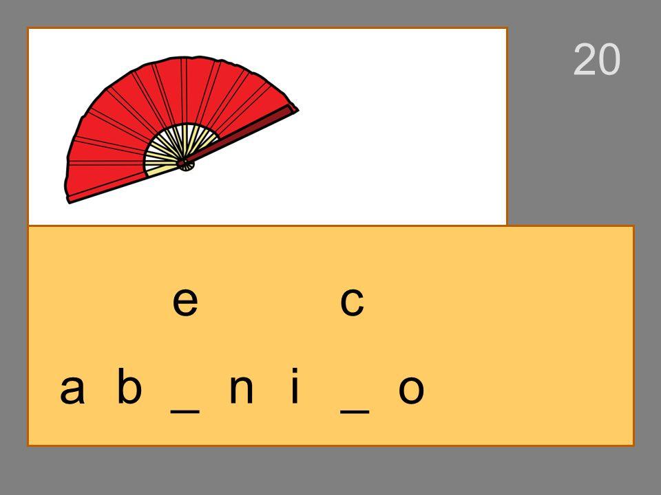 a _ _ ni b o _ o p