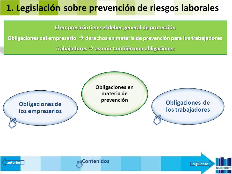 legislacion de prevencion: