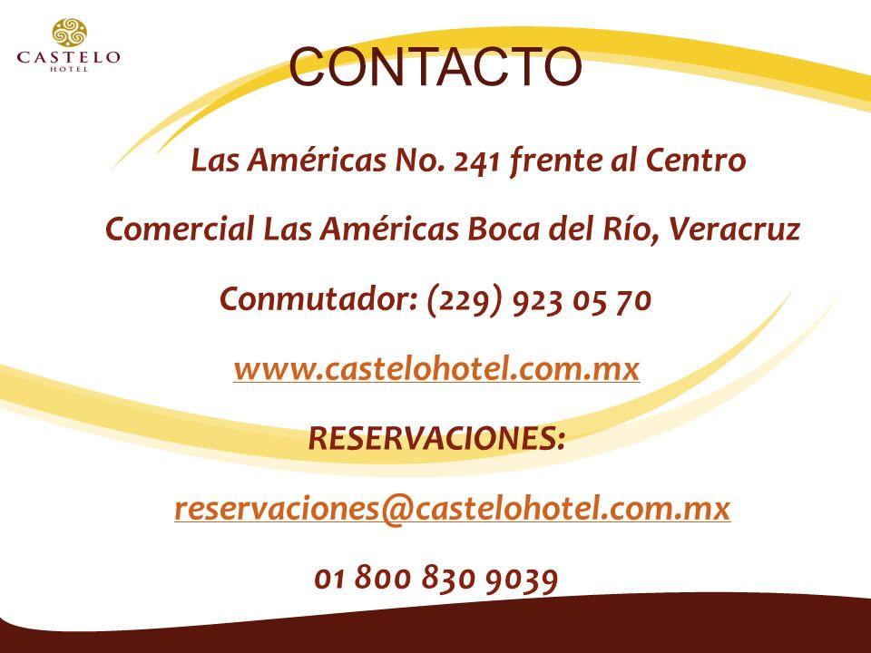 CONTACTO Av. Las Américas No.