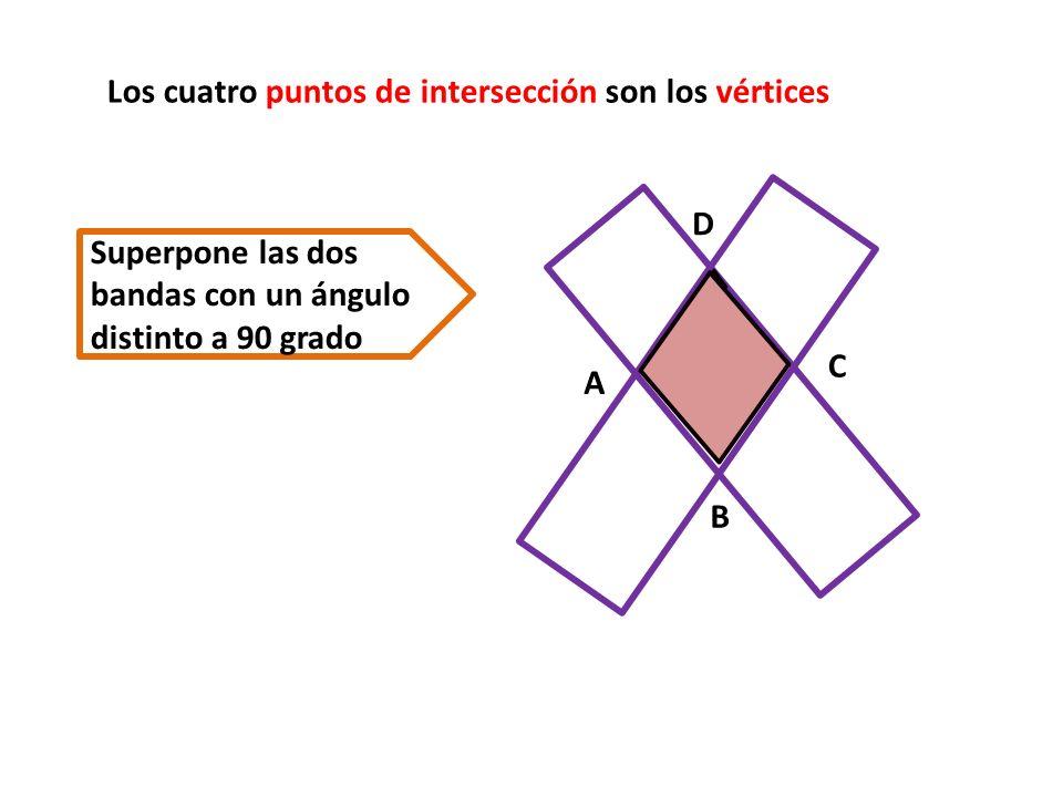 ¿ Como son los lados del paralelogramo obtenido .