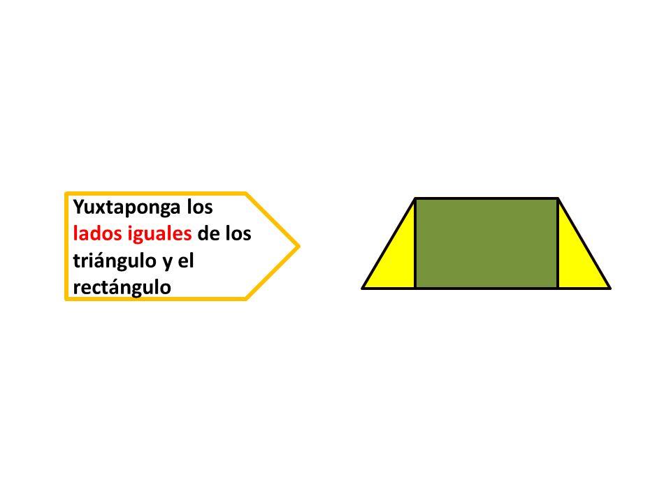 h D C BA ¿ Como son los lados del trapecio obtenido .