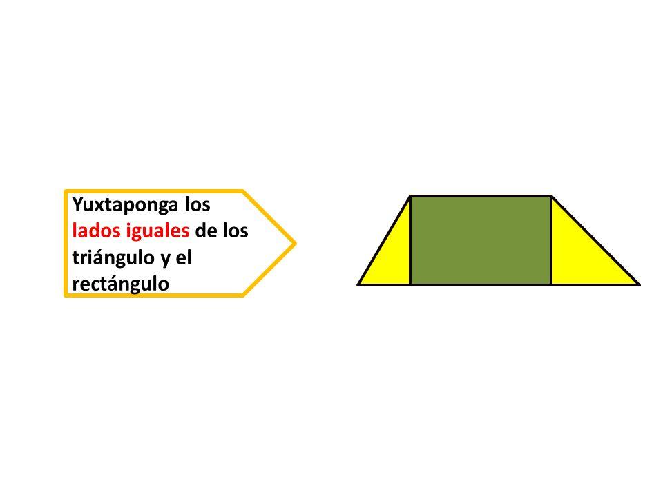 A D B C h ¿ Como son los lados del trapecio obtenido .