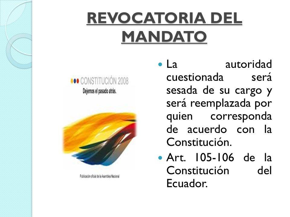 LA ORGANIZACIÓN DEL PODER POLÍTICO Y DE TERRITORIO ECUATORIANO EN LA CONSTITUCIÓN DEL ECUADOR