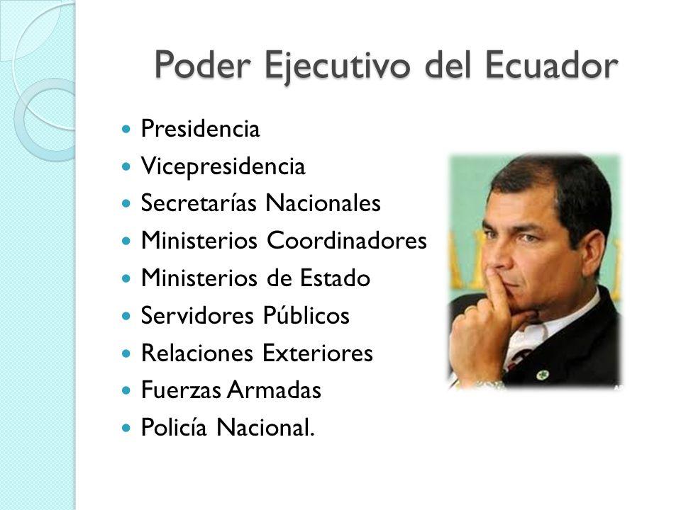 Poder Legislativo del Ecuador Asamblea Nacional