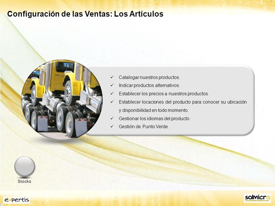 Configuración de las Ventas: Las Tarifas Tarifas (precios y descuentos 123) en el circuito de ventas.