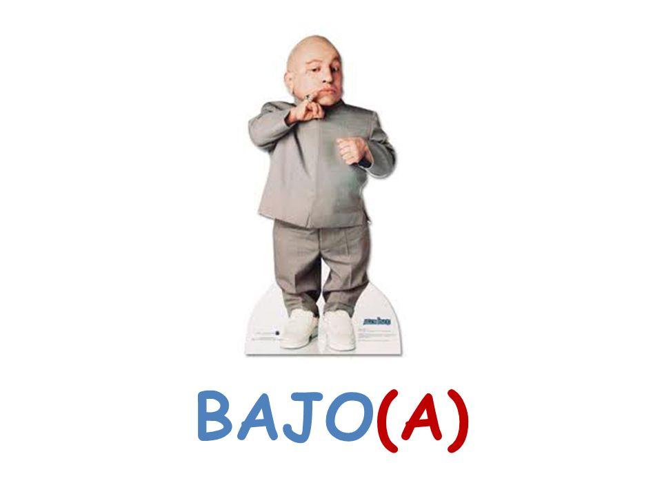 BAJO(A)