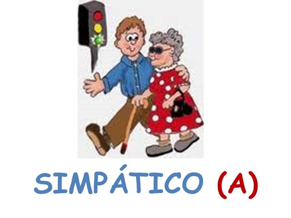 SIMPÁTICO (A)