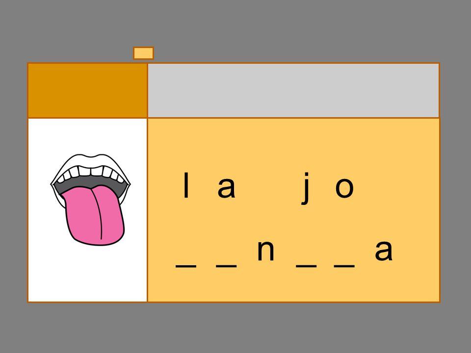 _ _ n __ o lcg a _
