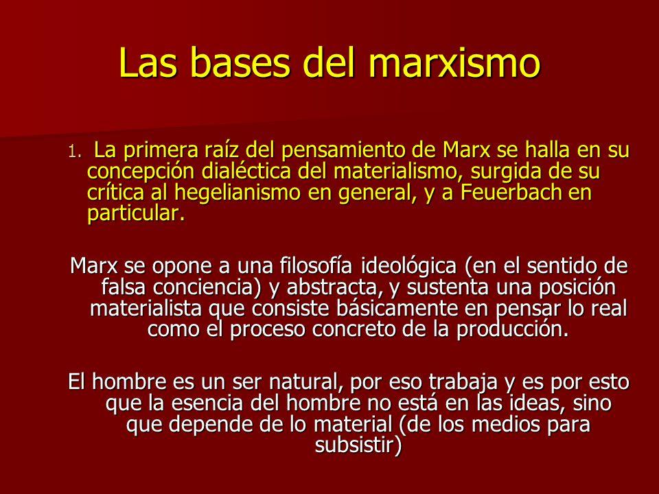 Las bases del marxismo 1.