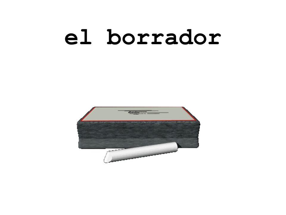 el bolígrafo/ la pluma/ el lapicero