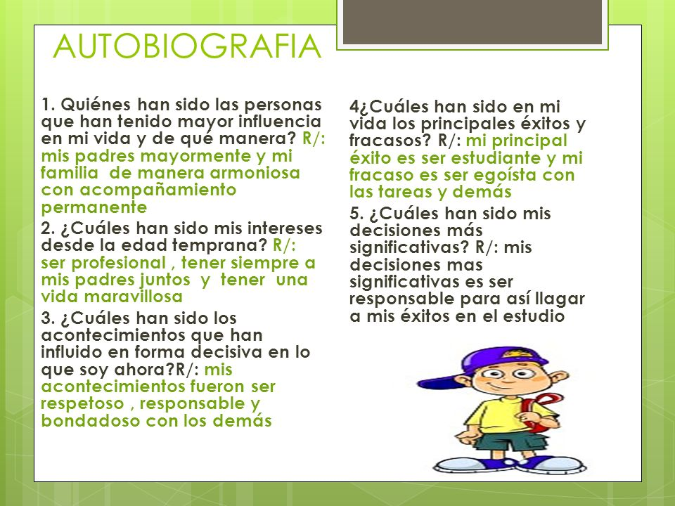 AUTOBIOGRAFIA 1.