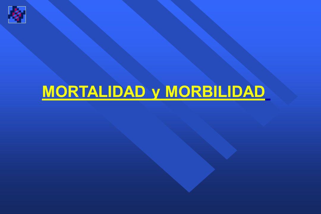 MORTALIDAD y MORBILIDAD