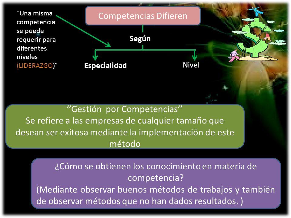 ¿Cómo definir un modelo de competencia.
