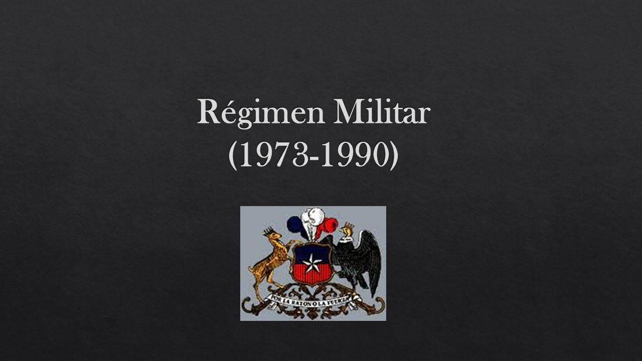 1974-1977 DINA Se disuelve la DINA y se crea la CNI 1978 Se calculan tres mil asesinatos en los 16 años y medio de gobierno militar, de los cuales mil se encuentran desaparecidos.