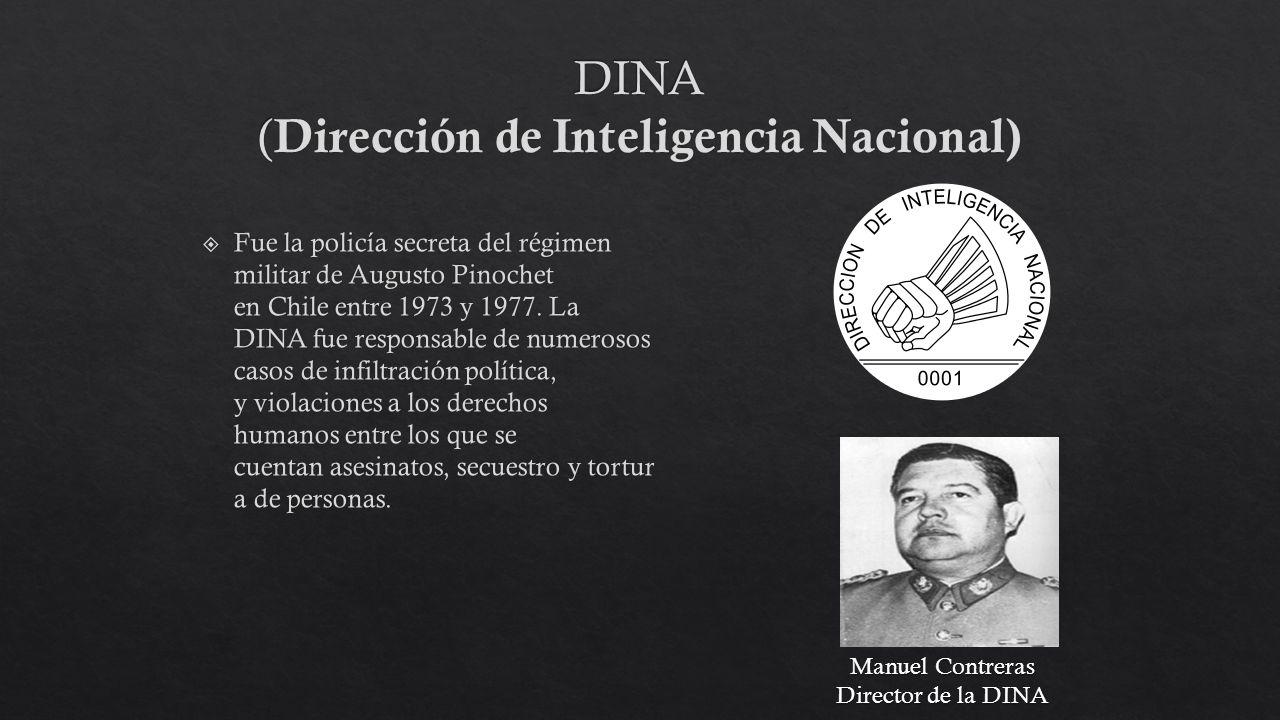 Manuel Contreras Director de la DINA