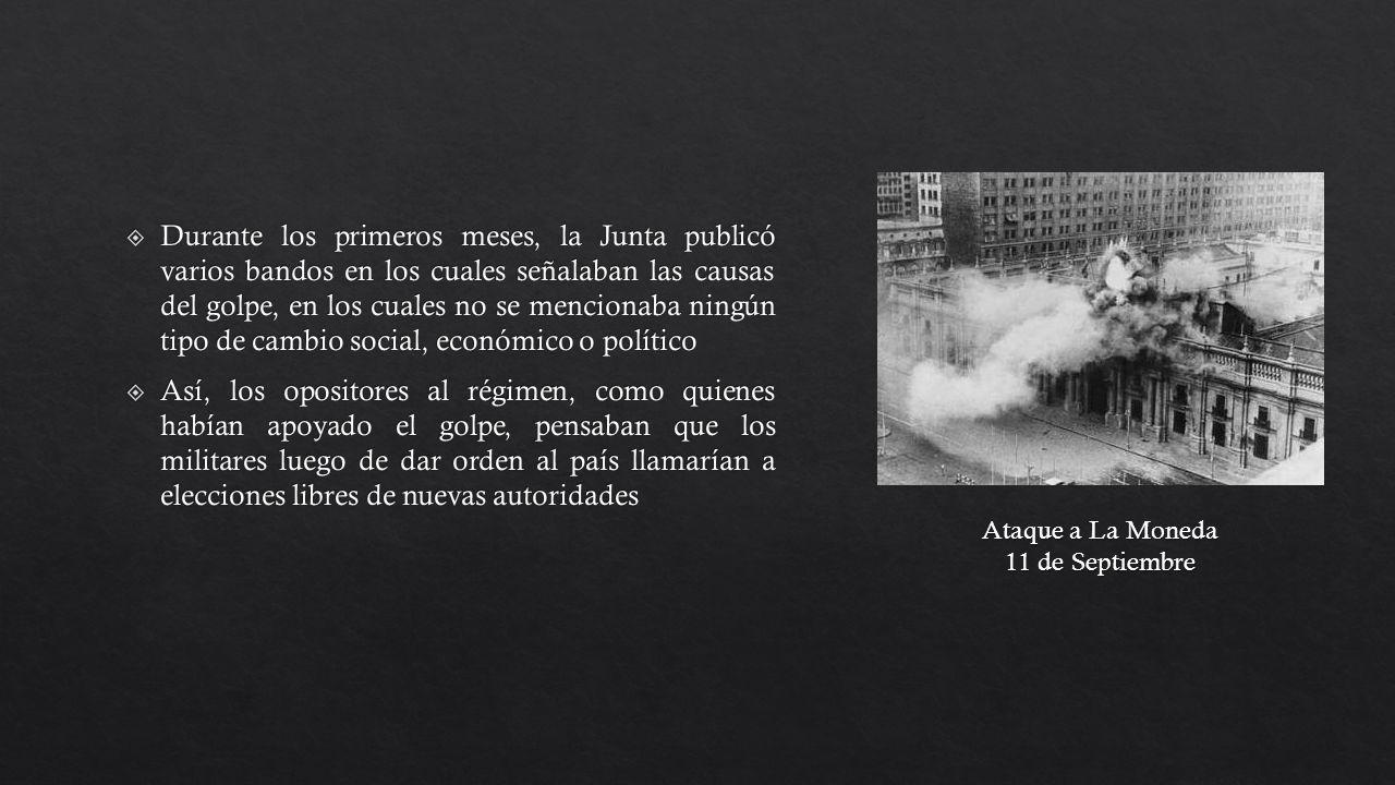 Ataque a La Moneda 11 de Septiembre