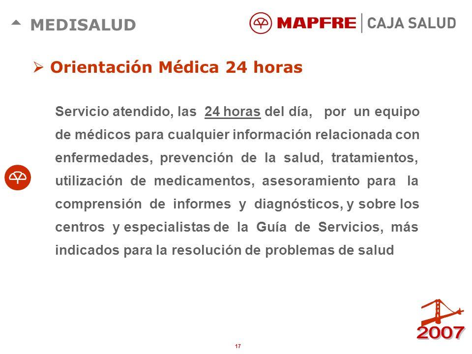 16 MEDISALUD Acceso a los servicios de la Red de Clínicas Alpha Estética. Primera consulta gratuita, precios especiales y trato preferente a los clien