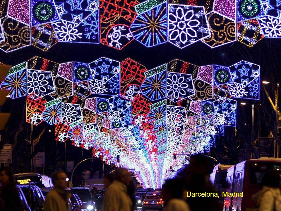 Barcelona, Madrid