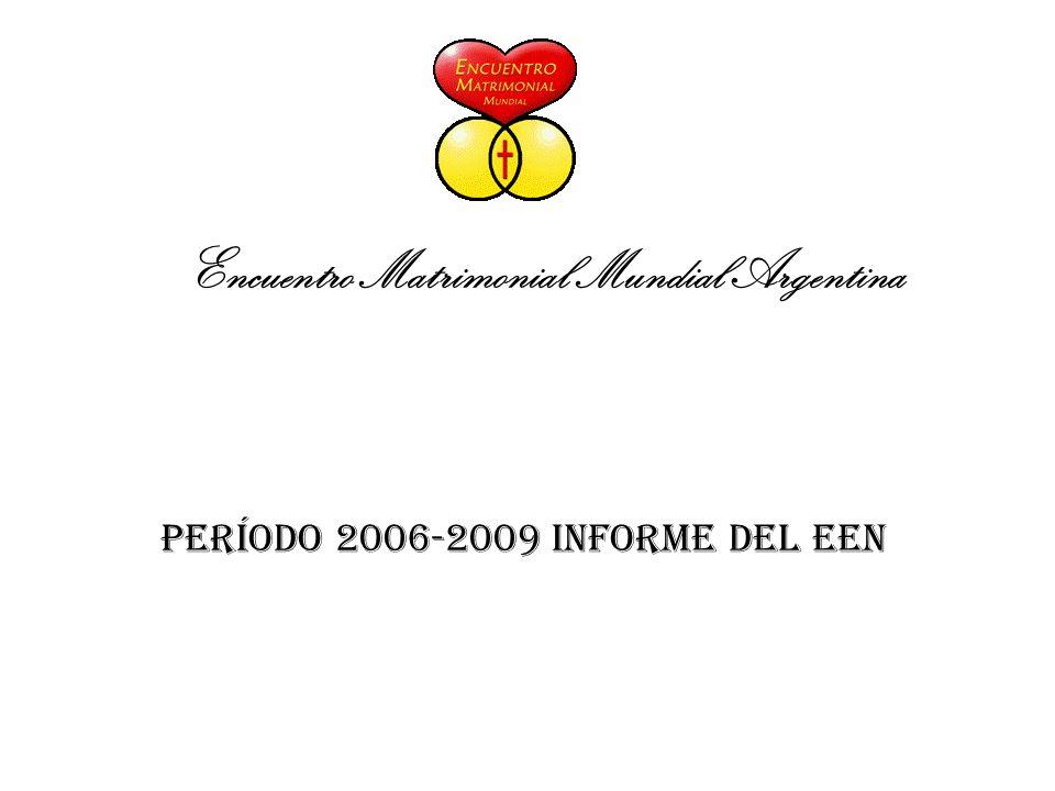 Encuentro Matrimonial Mundial Argentina Período 2006-2009 Informe del EEN