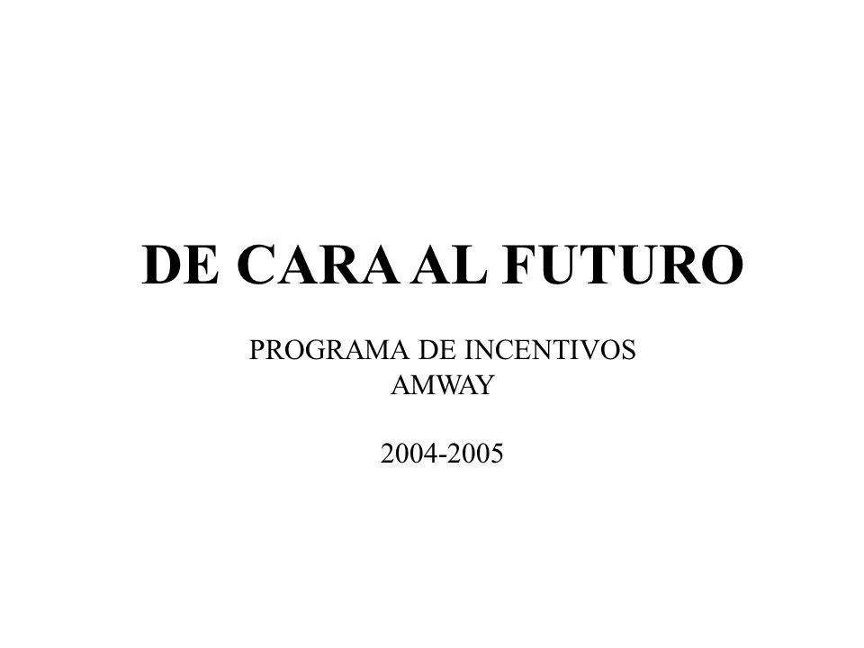 DE CARA AL FUTURO PROGRAMA DE INCENTIVOS AMWAY 2004-2005