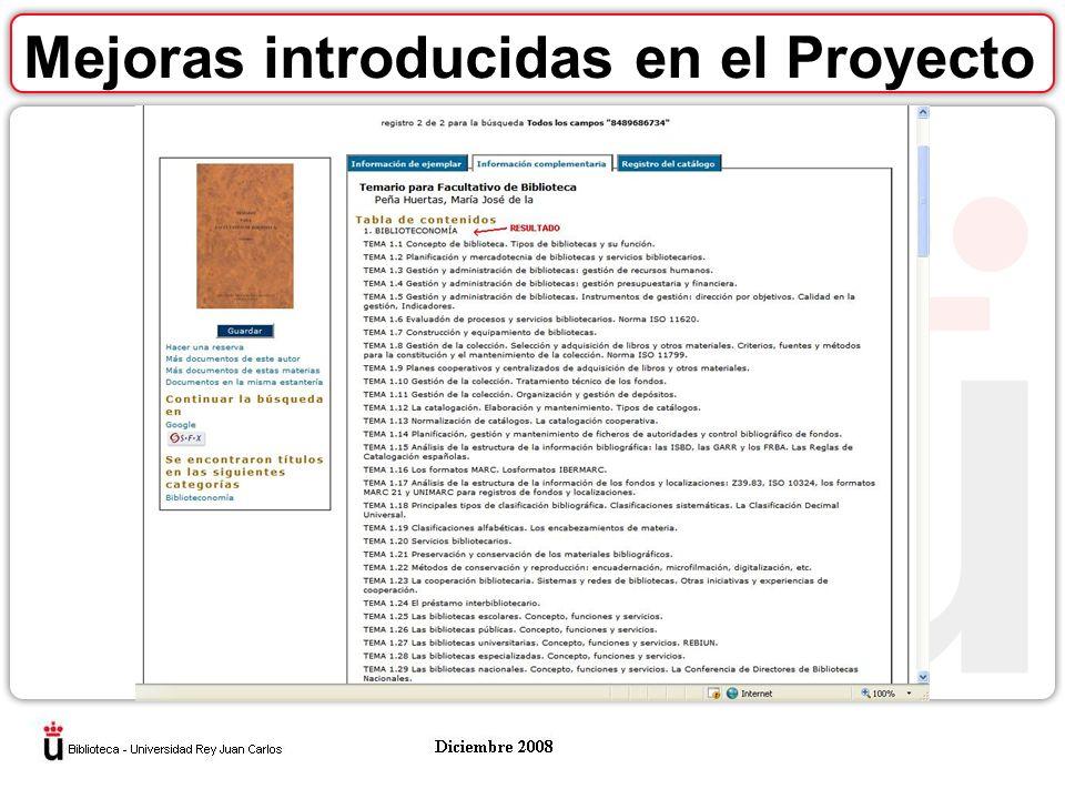 oMejoras en el envío de los contenidos Hasta el mes de julio de 2008, mensualmente, antes del último día hábil de cada mes, todos los miembros del Grupo mandaban los archivos a una dirección corporativa de correo electrónico administrada por la Universidad Rey Juan Carlos.