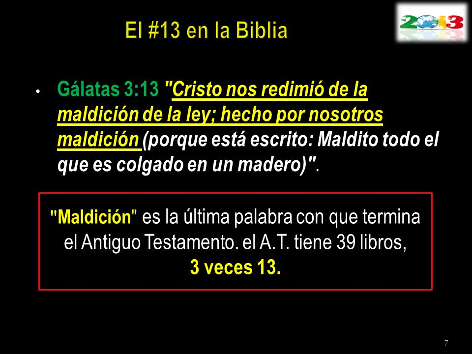 Gálatas 3:13