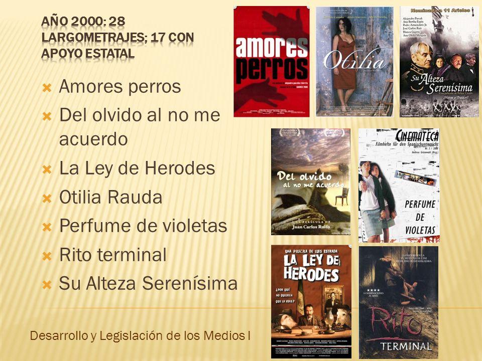 Inconstitucionalidad del artículo 8º de la ley de cinematografía La Suprema Corte de Justicia declara, en marzo de 2000, la inconstitucionalidad del artículo 8 de la Ley Federal de Cinematografía, lo cual posibilita que una mayor cantidad de películas no habladas en español sean dobladas.