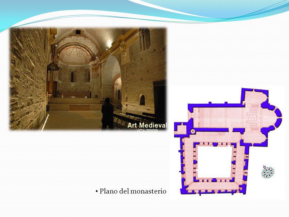 La iglesia de San Benet de Bages consta de una única nave con un ábside central semicircular.