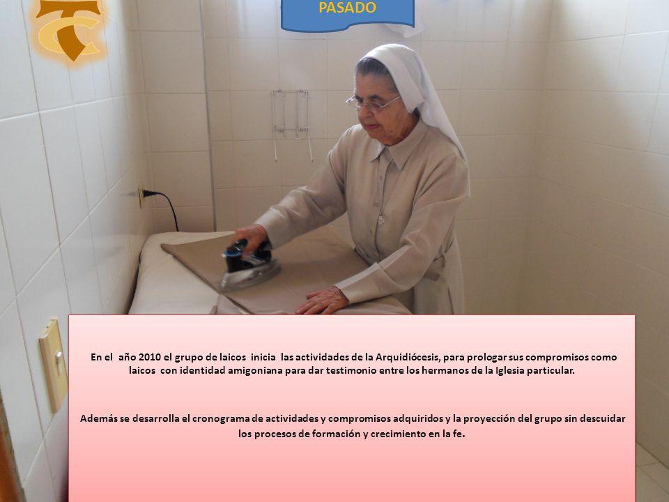 En el año 2010 el grupo de laicos inicia las actividades de la Arquidiócesis, para prologar sus compromisos como laicos con identidad amigoniana para