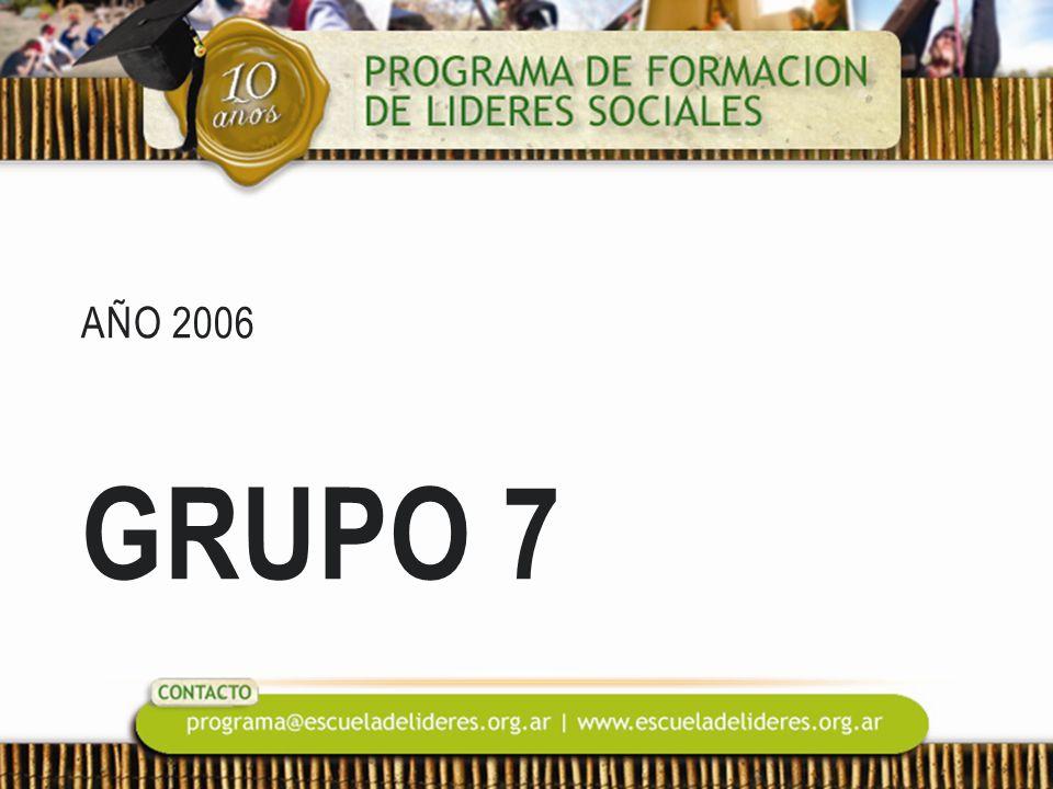 AÑO 2006 GRUPO 7