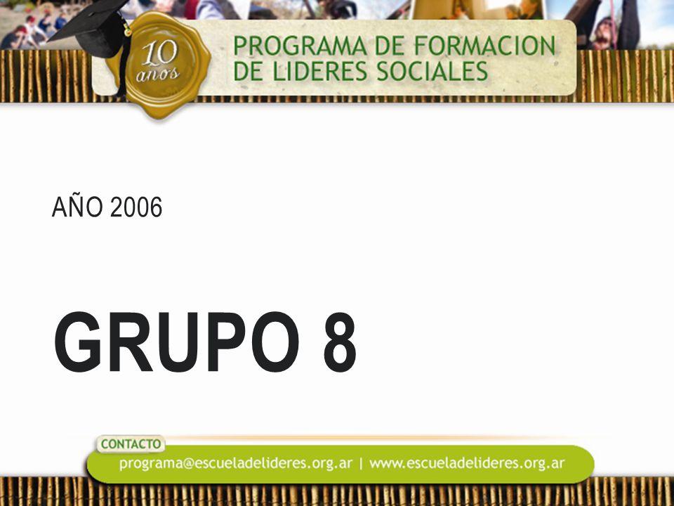 AÑO 2006 GRUPO 8
