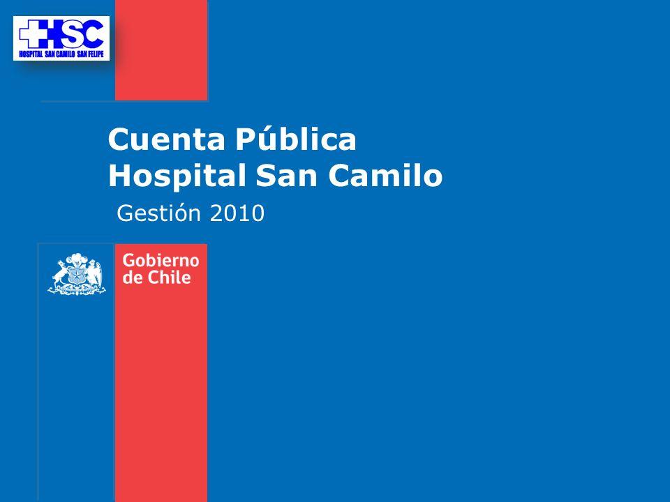Cuenta Pública Hospital San Camilo Gestión 2010