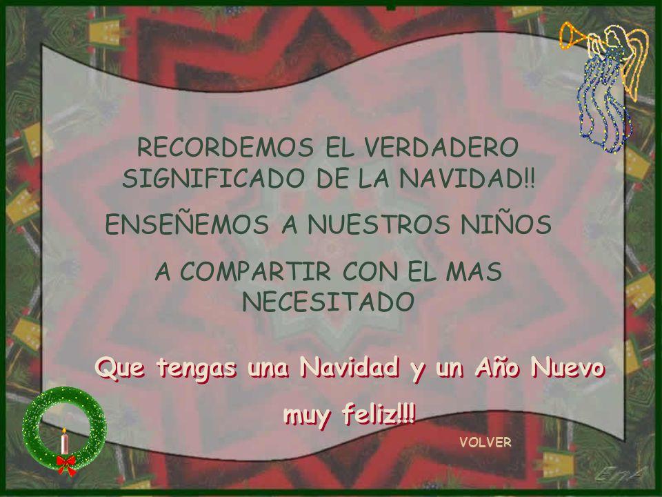 RECORDEMOS EL VERDADERO SIGNIFICADO DE LA NAVIDAD!.