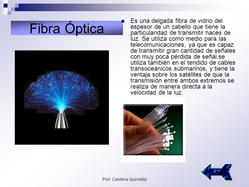 Prof. Carolina Quinodóz Telefonía Celular Utiliza la posibilidad de enviar señales telefónicas a través de las ondas de radio. Inventado por Martin Co