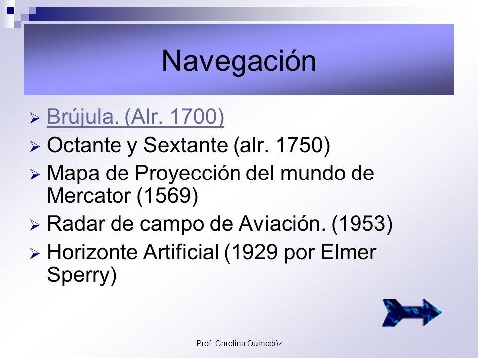 Prof. Carolina Quinodóz La era del reactor y los viajes espaciales Cohete Espacial Saturno V – Década del 60. Avión Supersónico Concorde – 1969. Lanza